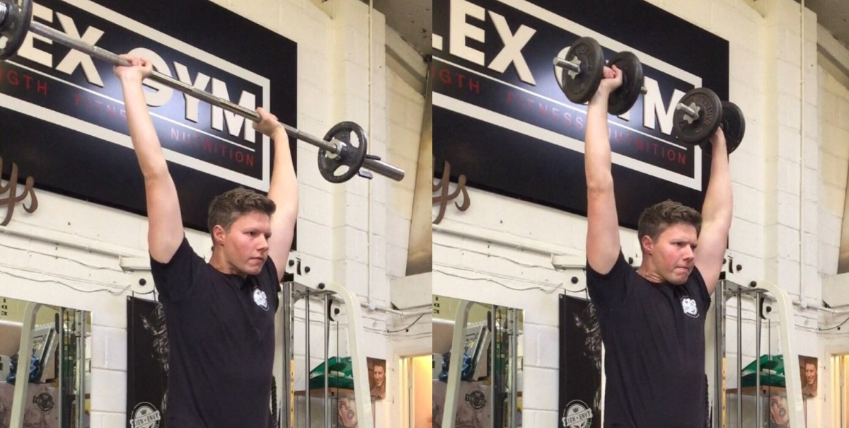 Best Golf Exercises – Push Press For More Power In YourGame!