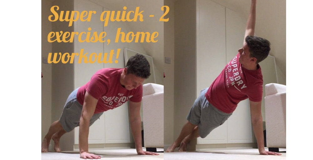 2 Exercise Home Golf Workout