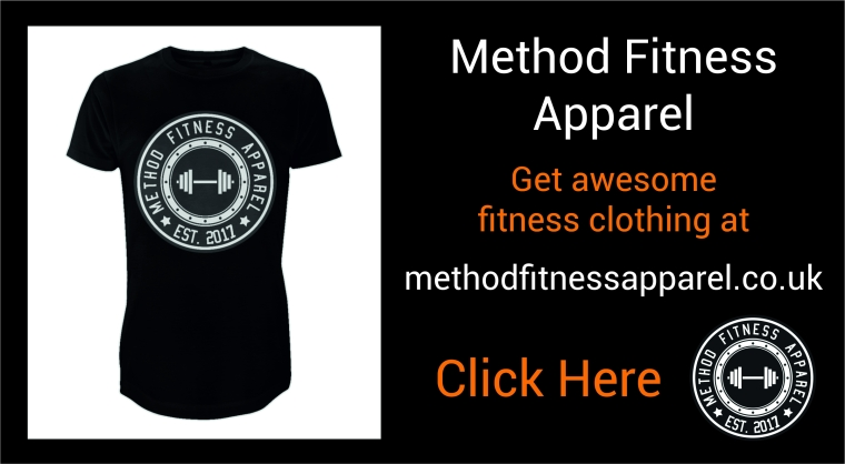 method fitness apparel clothing