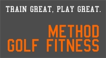 method golf fitness logo
