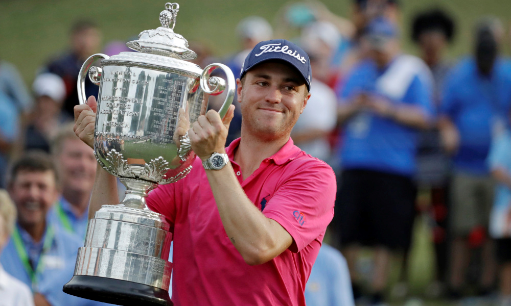 The Fitness Strategy Of PGA Champ Justin Thomas